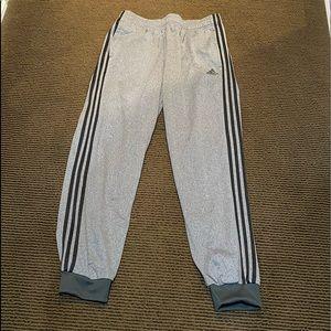 Men's Charcoal Adidas Track Pants.